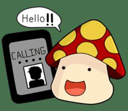 Mushroom life sticker #2789030