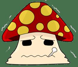 Mushroom life sticker #2789032