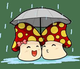 Mushroom life sticker #2789034
