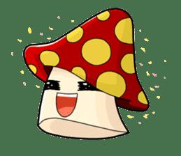 Mushroom life sticker #2789035