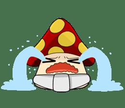 Mushroom life sticker #2789036