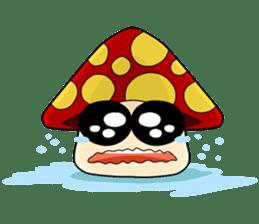 Mushroom life sticker #2789038