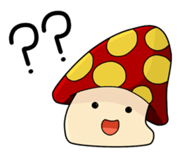 Mushroom life sticker #2789039