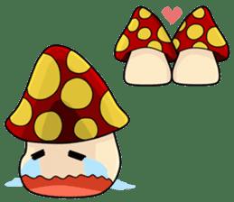 Mushroom life sticker #2789040