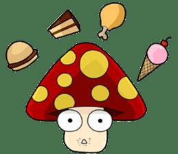 Mushroom life sticker #2789043