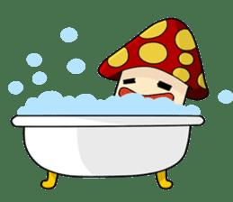 Mushroom life sticker #2789048