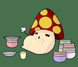Mushroom life sticker #2789049