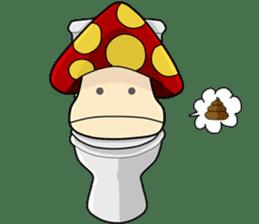 Mushroom life sticker #2789050