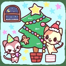 Merry Cats Christmas! sticker #2795596