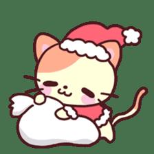 Merry Cats Christmas! sticker #2795597