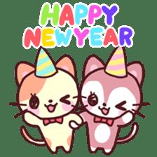 Merry Cats Christmas! sticker #2795598