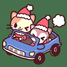 Merry Cats Christmas! sticker #2795607