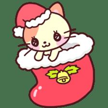 Merry Cats Christmas! sticker #2795610