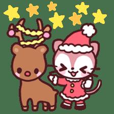 Merry Cats Christmas! sticker #2795611