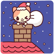 Merry Cats Christmas! sticker #2795612