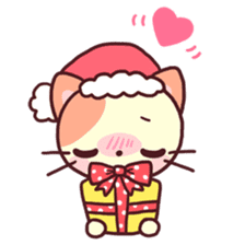 Merry Cats Christmas! sticker #2795614