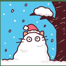 Merry Cats Christmas! sticker #2795615