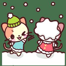 Merry Cats Christmas! sticker #2795616