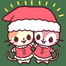 Merry Cats Christmas! sticker #2795617
