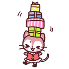Merry Cats Christmas! sticker #2795618