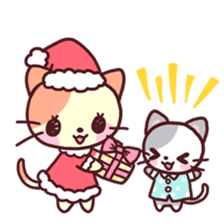 Merry Cats Christmas! sticker #2795619