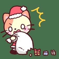 Merry Cats Christmas! sticker #2795620