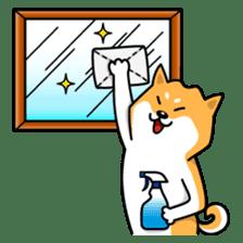 Shiba Inu Genki No.2 (Housework ver.) sticker #2805294