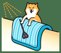 Shiba Inu Genki No.2 (Housework ver.) sticker #2805301
