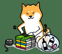 Shiba Inu Genki No.2 (Housework ver.) sticker #2805306