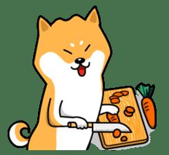 Shiba Inu Genki No.2 (Housework ver.) sticker #2805314
