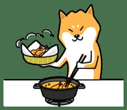 Shiba Inu Genki No.2 (Housework ver.) sticker #2805315