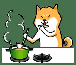 Shiba Inu Genki No.2 (Housework ver.) sticker #2805317
