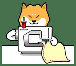 Shiba Inu Genki No.2 (Housework ver.) sticker #2805326