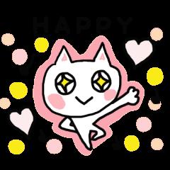 English cat Sticker kawaii