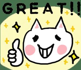English cat Sticker kawaii sticker #2808616