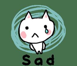 English cat Sticker kawaii sticker #2808619