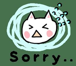 English cat Sticker kawaii sticker #2808621