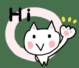 English cat Sticker kawaii sticker #2808624