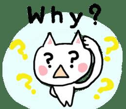 English cat Sticker kawaii sticker #2808631