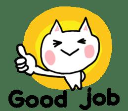 English cat Sticker kawaii sticker #2808632