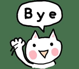 English cat Sticker kawaii sticker #2808633