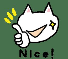 English cat Sticker kawaii sticker #2808641