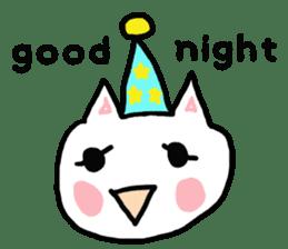 English cat Sticker kawaii sticker #2808643