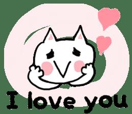 English cat Sticker kawaii sticker #2808645
