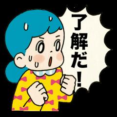 Girls O.K. Sticker