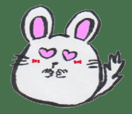 chinchilla sticker #2814773