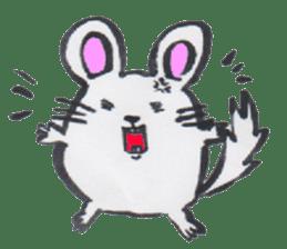 chinchilla sticker #2814774