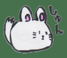 chinchilla sticker #2814775