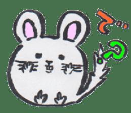 chinchilla sticker #2814786