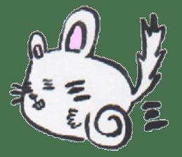 chinchilla sticker #2814789